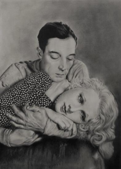 Buster Keaton, Anita Page par artemis37
